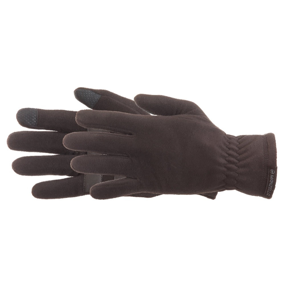Men's Tahoe Ultra Touchtip Gloves in Black Pair Side Profile