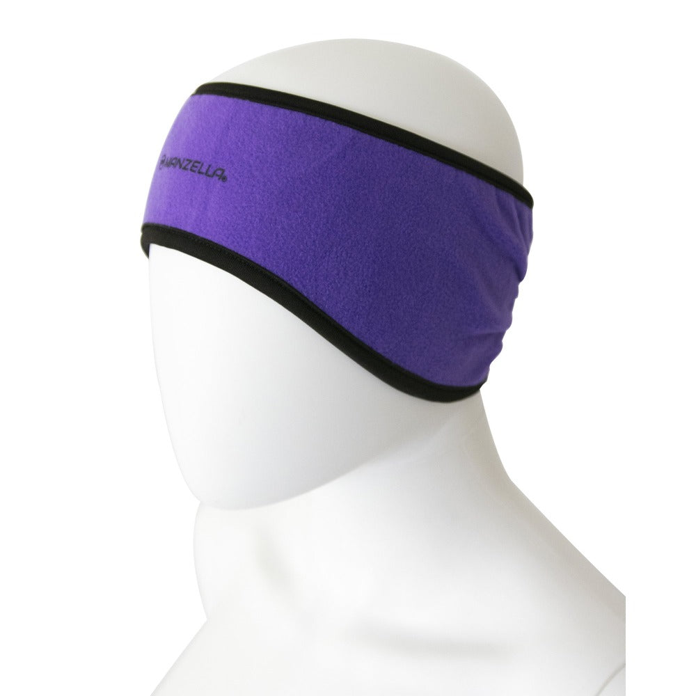 Women's Tahoe Headband in Ultraviolet Left Angled View