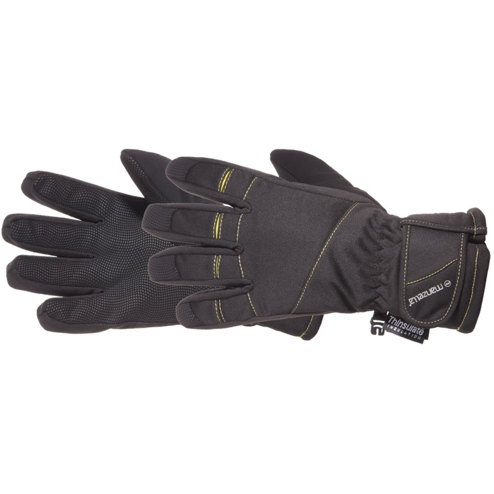 Kids Half Pipe Ski Gloves Pair Side Profile