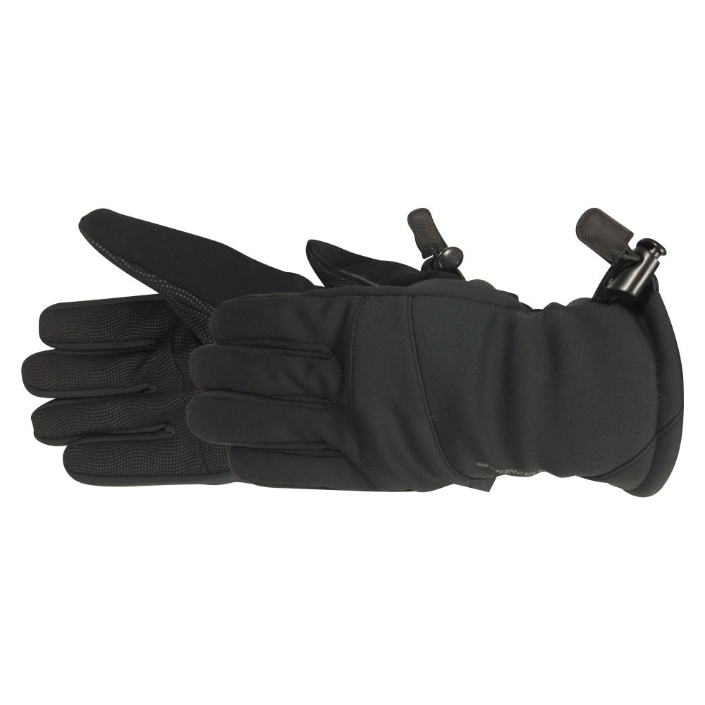 Men's Gore-Tex Infinium Versatile 2.0 Glove pair in black side profile