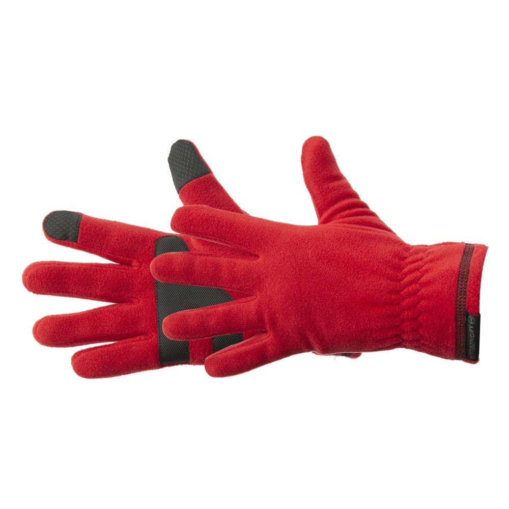 Women's Tahoe 2.0 Ultra Glove in Chili Pepper Red Side Profile view
