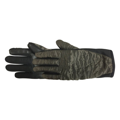 Women's Bristol TouchTip Glove pair in Dark Olive side profile