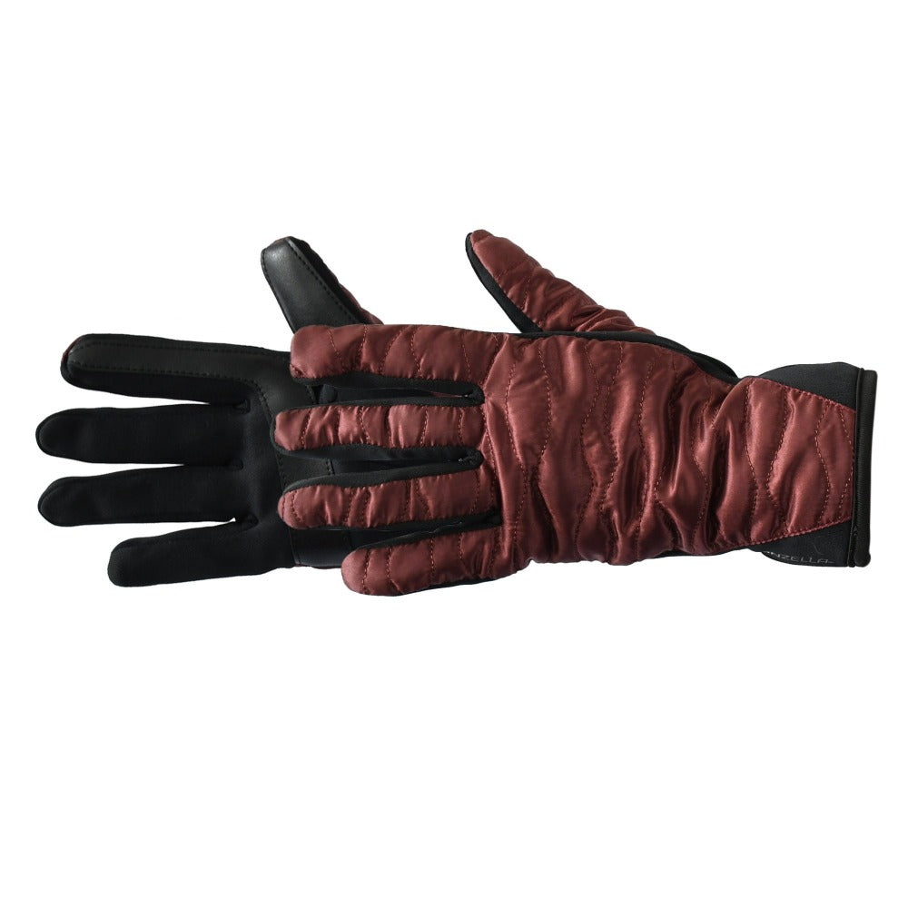 Women's Bristol TouchTip Glove in Port Dark Red