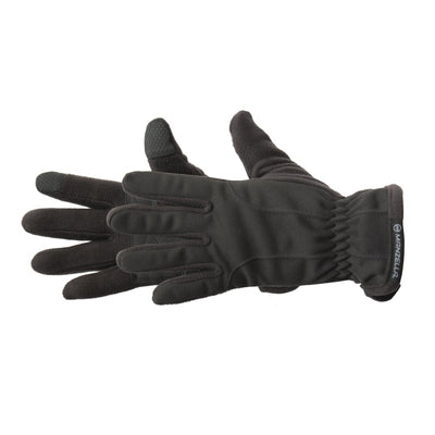 Women's Equinox Ultra TouchTip Glove pair in Black side profile