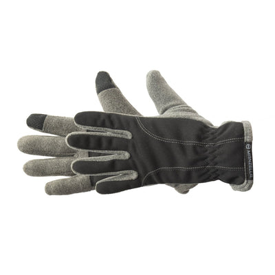 Women's Equinox Ultra TouchTip Glove pair in Oxford Heather Grey side profile