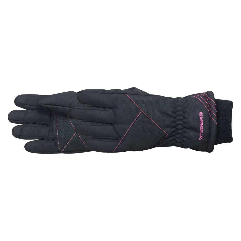 Kid's Drift Glove pair in pink side profile