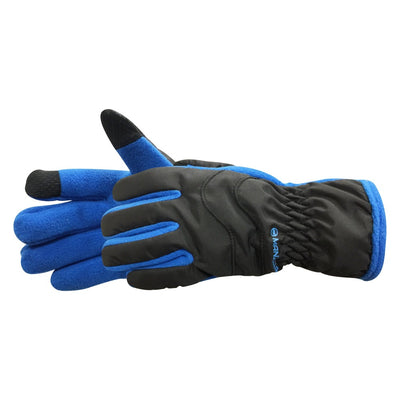Kid's Frisco TouchTip Gloves pair in Royal Blue side profile