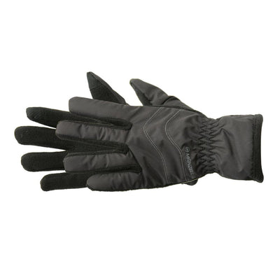 Kid's Frisco TouchTip Gloves pair in Black side profile