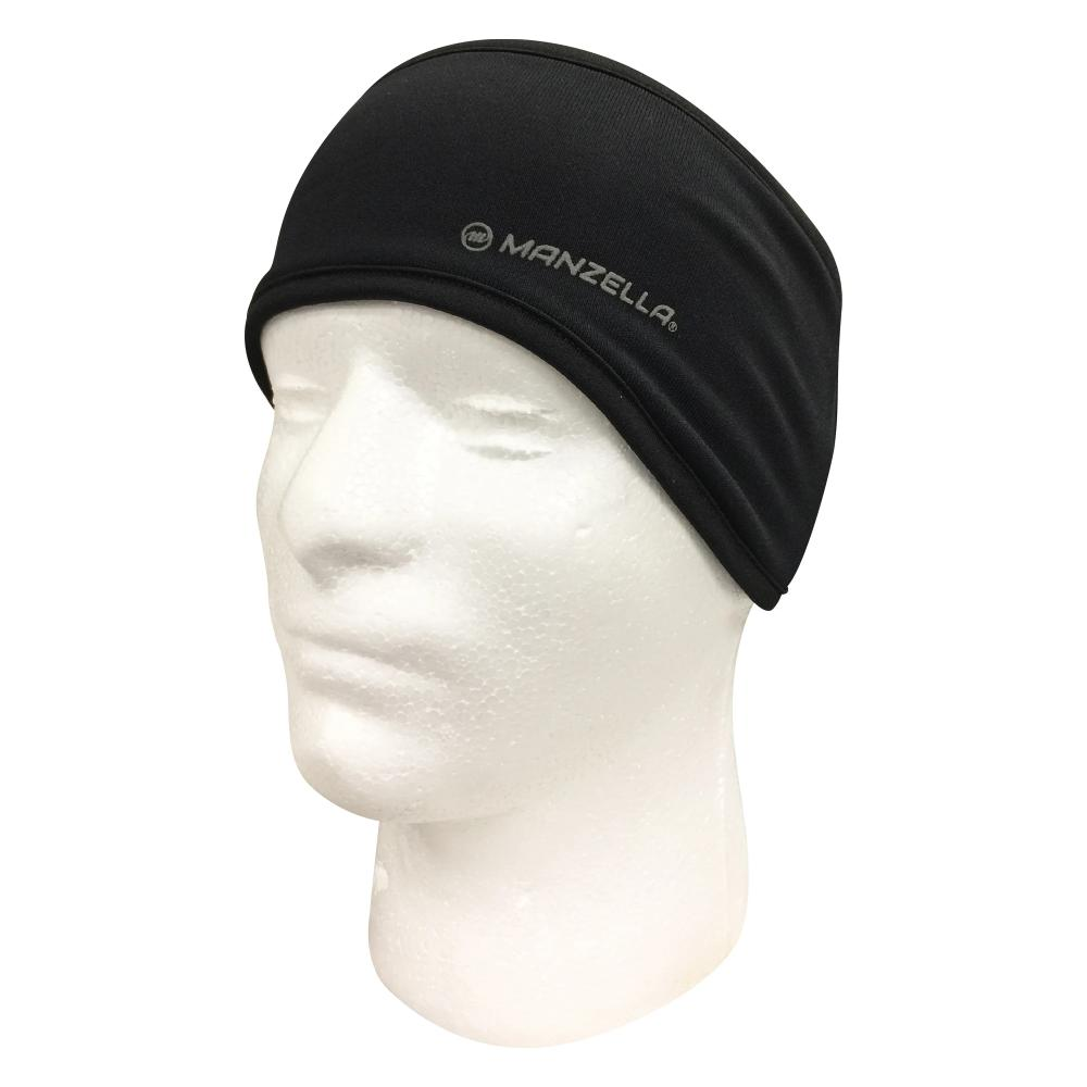 Men's Elite Earband in Black on foam head