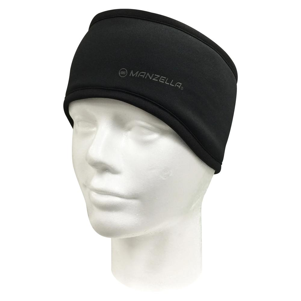 Women's Elite Earband in black on foam head