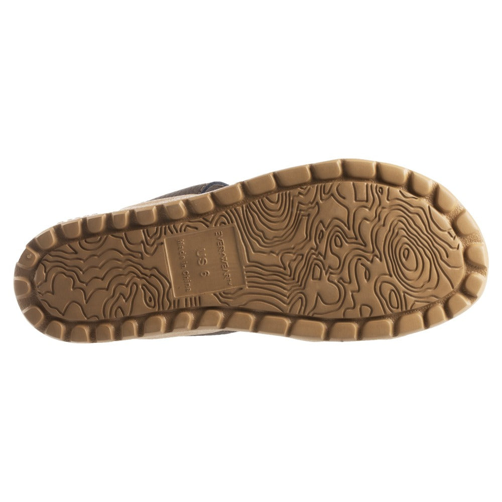 Acorn Riley Sandal Topography Map Sole View
