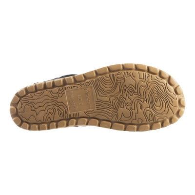 Acorn Casco Active Sandal Topography Map Outsole View