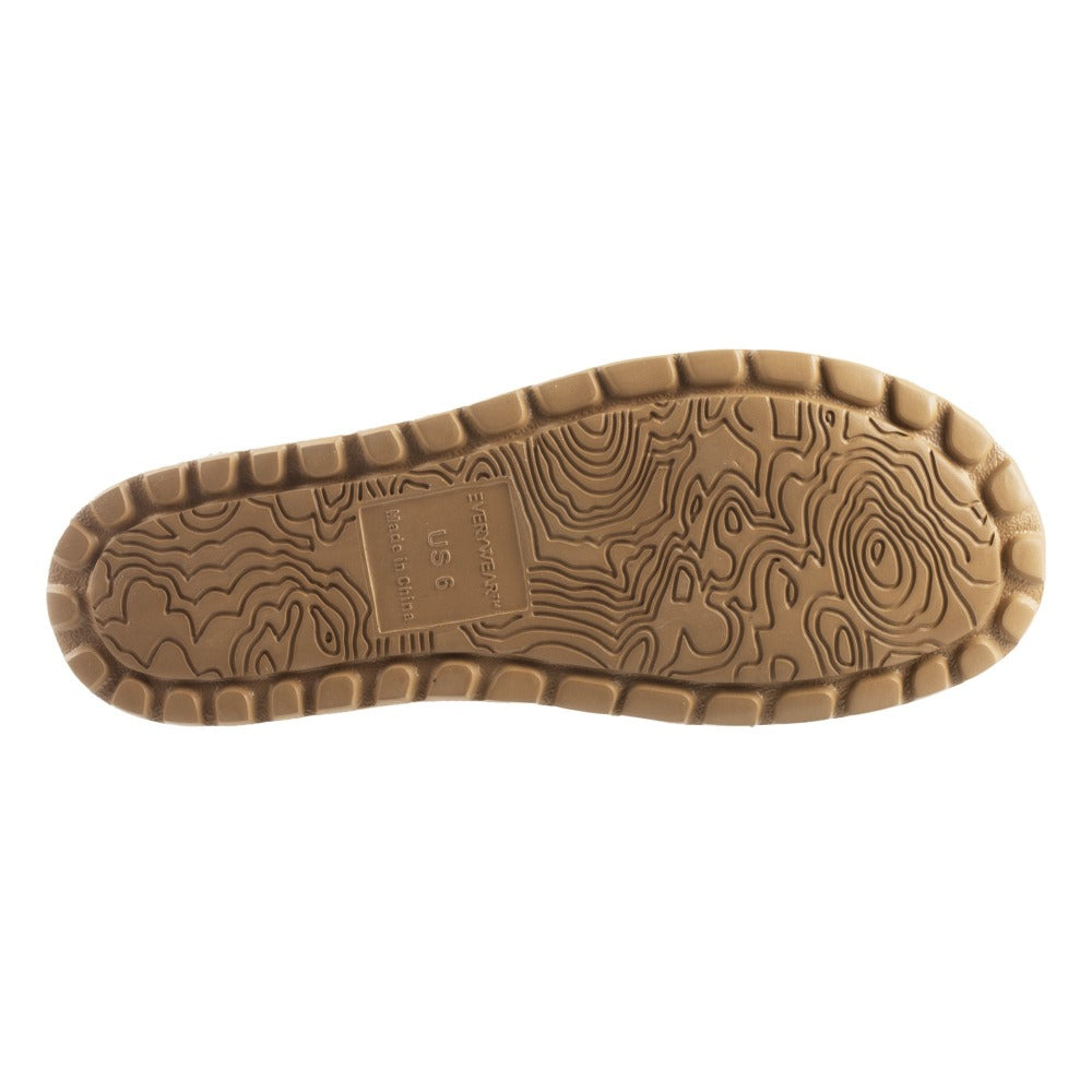 Acorn Casco Active Sandal Topography Map Heather Grey Outsole View