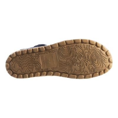 Acorn Casco Sandal in  Navy Outsole View