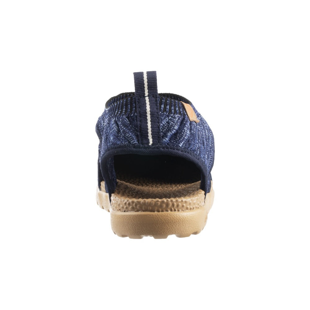 Acorn Casco Recycled Knit Sandal Navy Back View