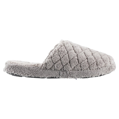 Women's Spa Quilted Clog in Grey Profile