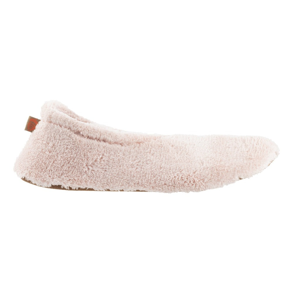 Women's Spa Travel Slipper in Pink Profile