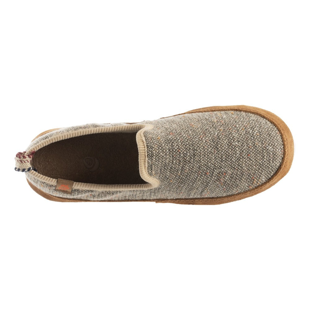 Women's Lightweight Bristol Loafer in Pebble Inside Top View