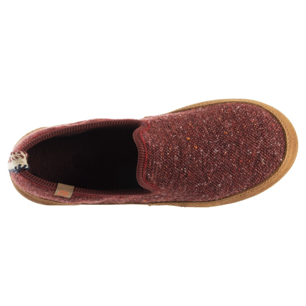 Women's Lightweight Bristol Loafer in Copper Inside Top View