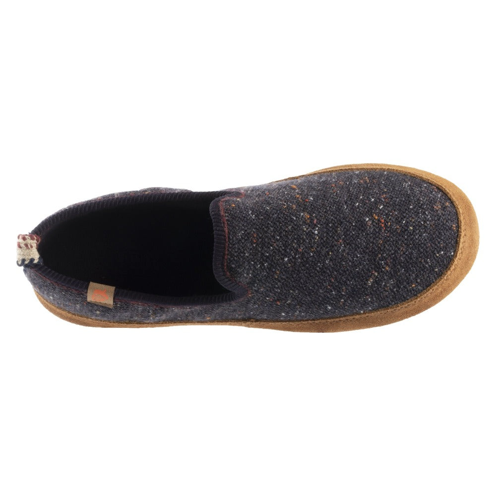 Women's Lightweight Bristol Loafer in Navy Blue Inside Top View