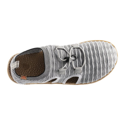 Acorn Men's Casco Active Sport Sandal in Heather Grey Top Down View