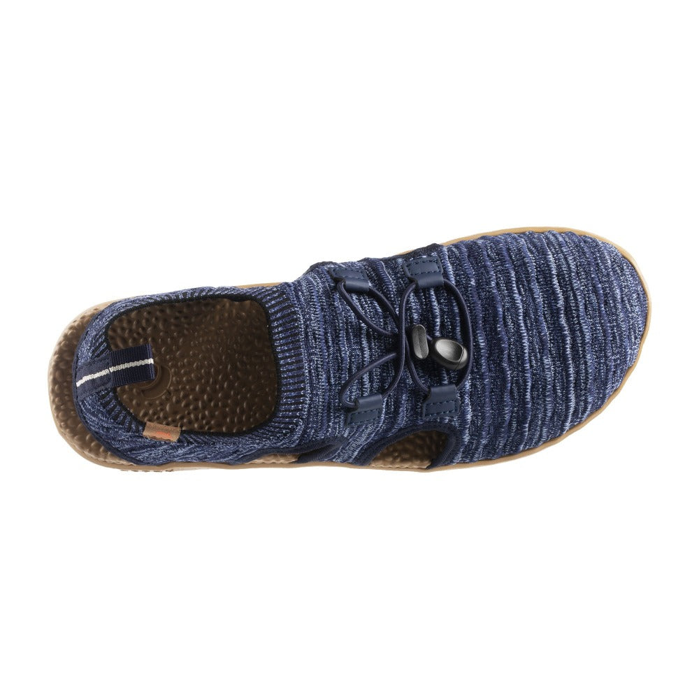 Acorn Men's Casco Active Sport Sandal in Navy Blue  Top Down View
