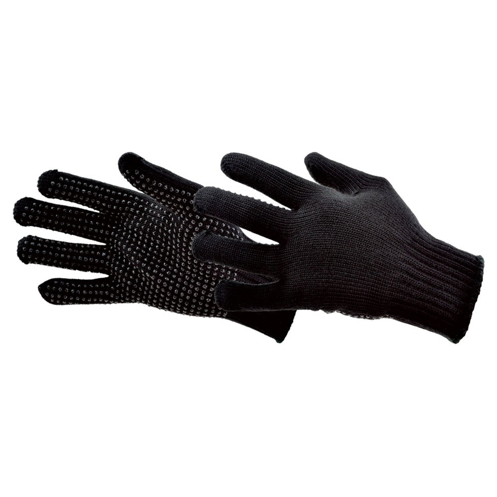 Men's Bl-12 Uniform Gloves in Black Pair Straight On View