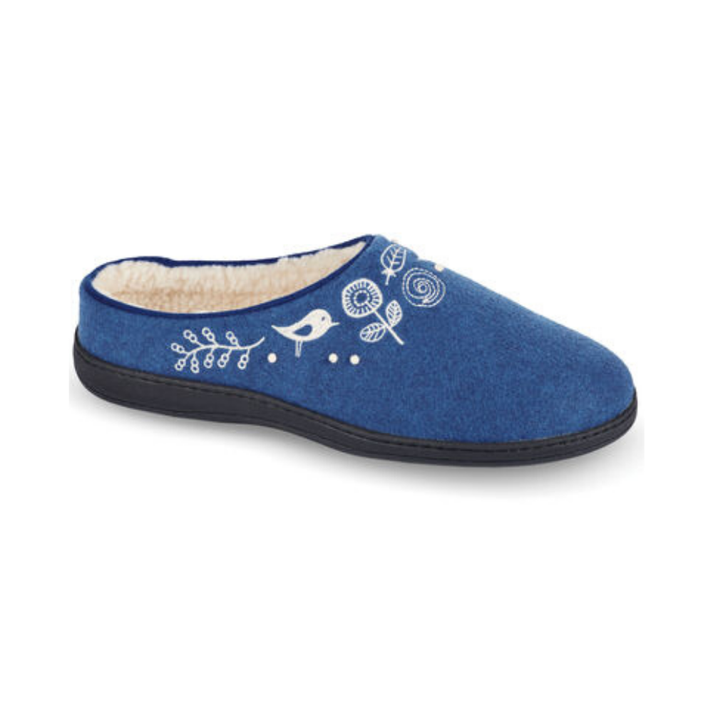 Women's Talara Mule in Heather Blue