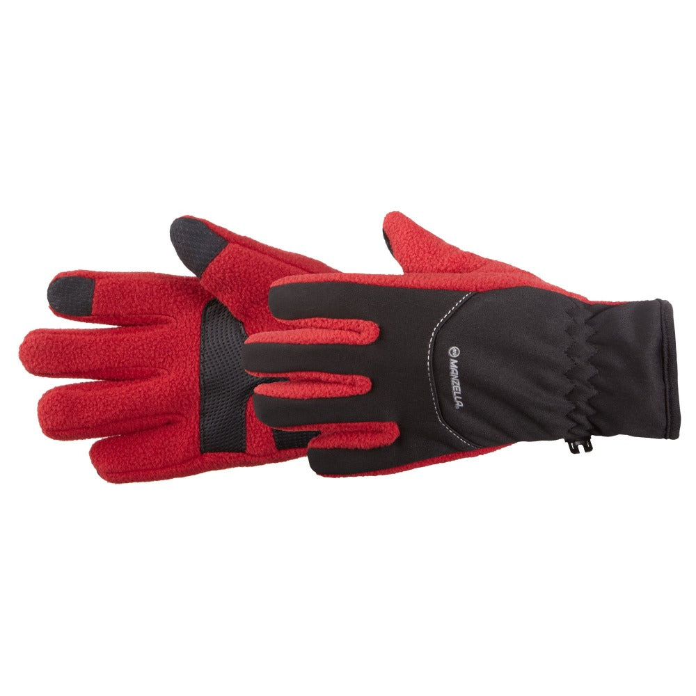 Kids Stratus Touchtip Gloves in Black Pair Side Profile