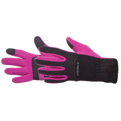Kids Stratus Touchtip Gloves in Pink Pair Side Profile