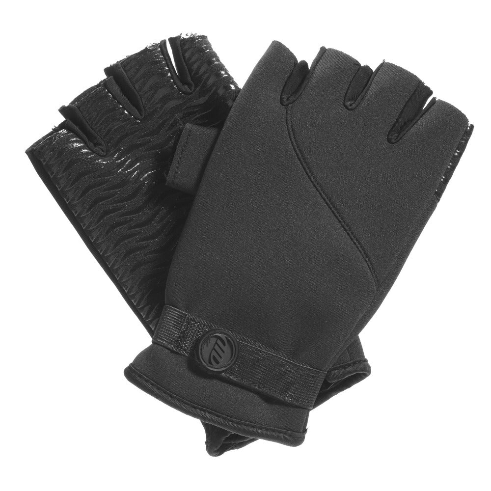 Men's Specialist Fingerless Uniform Gloves Straight On View