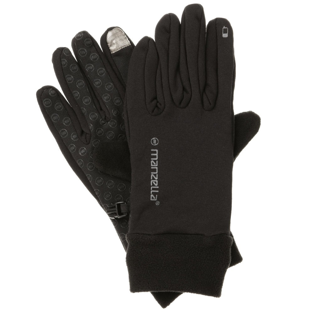 Women's Power Stretch Touchtip Uniform Gloves Pair Straight On View