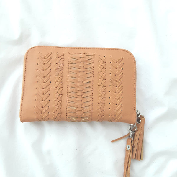 Amy Tan Leather Purse