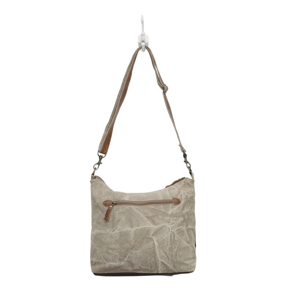 Double Zipper Shoulder Bag