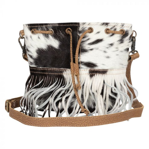 Fringe Girl Leather and Hide Bag