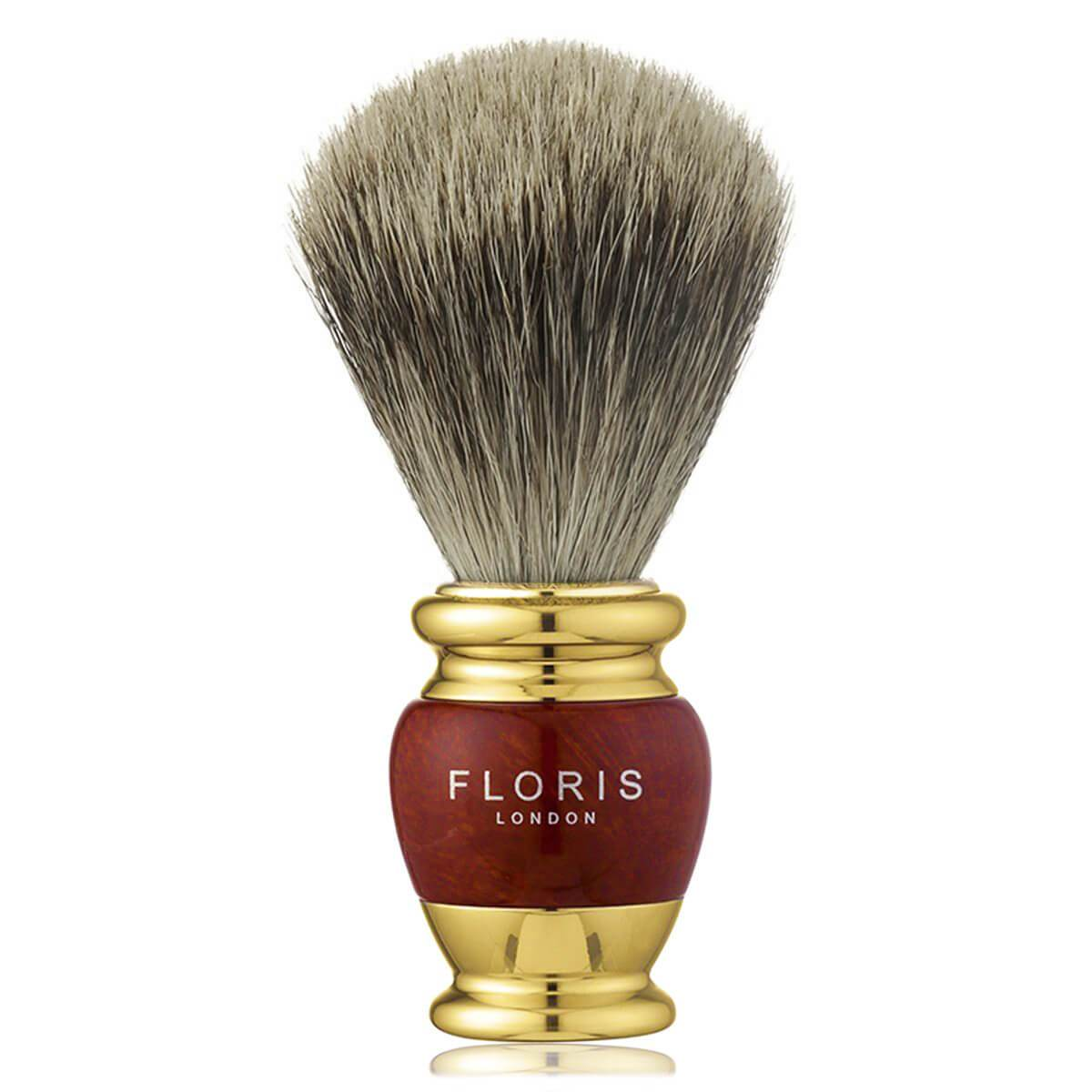 Briarwood & Gold Plate - 3 Piece Shaving Set