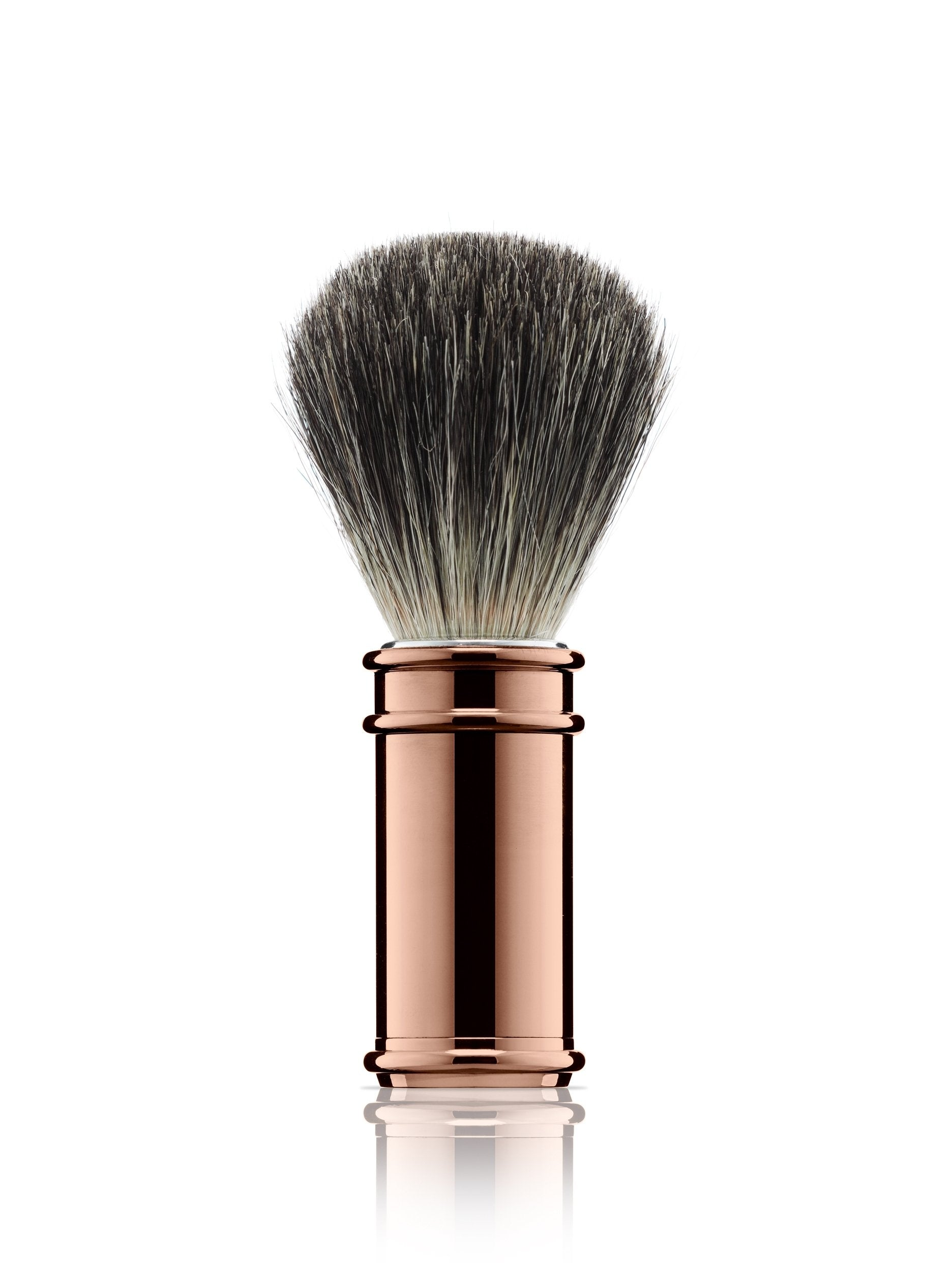 Rose Gold Plate - Shaving Brush