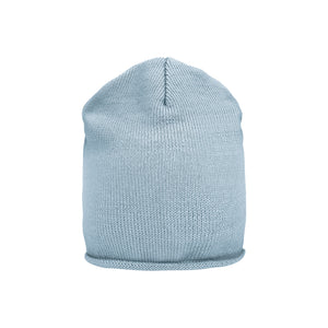 Light Blue Wool Cap