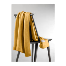Load image into Gallery viewer, Nannafrufrù Ochre Bamboo Blanket