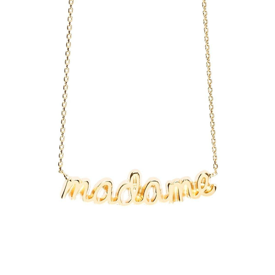 Collier Madame Or Colliers Monsieur Simone