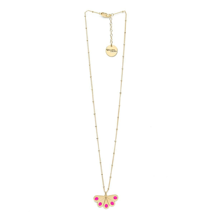 Collier Tao Or Rose Paon Ronds Colliers Monsieur Simone