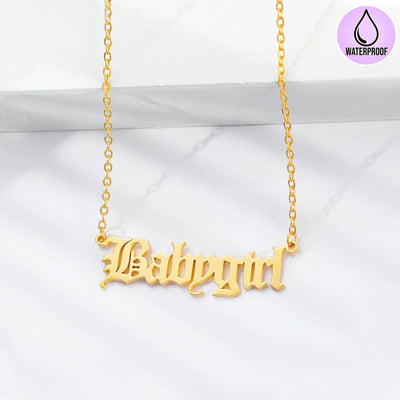 gold neckalce baby girl chain