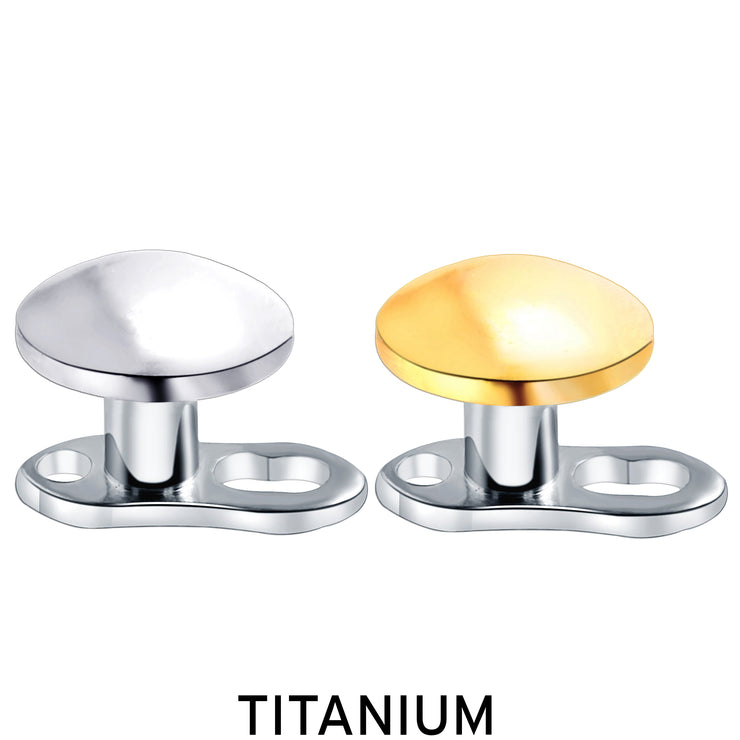titanium dermal piercing simple dermal jewelry