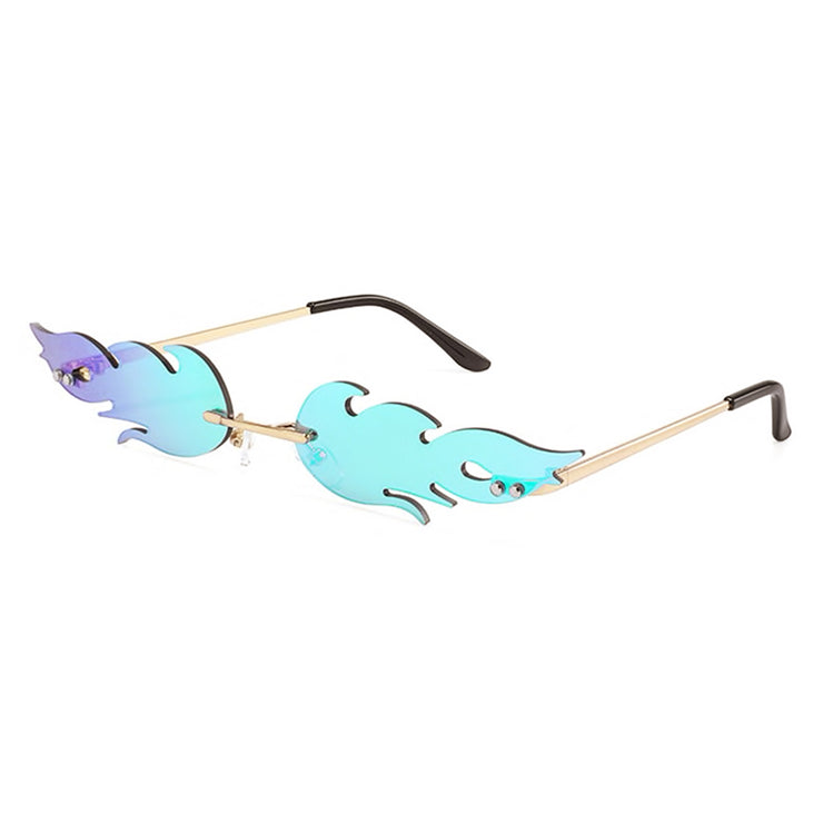 festival sunglasses gold shades