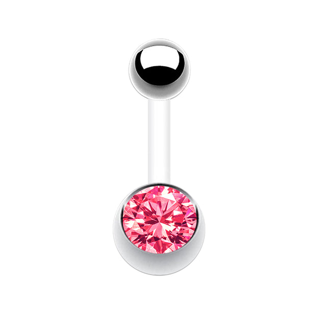 pink belly bars pink navel jewellery pink belly piercing