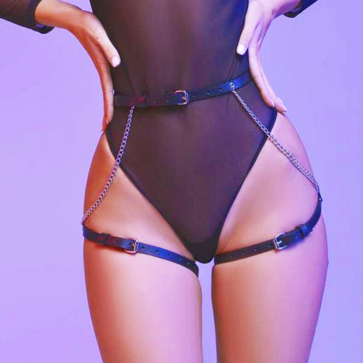 ROGUE | Faux Leather Bum Harness