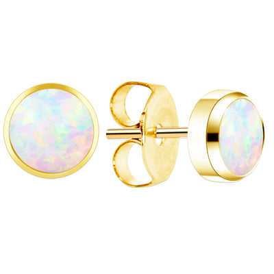 24k gold earrings gold ear piercings opal ear jewelllery