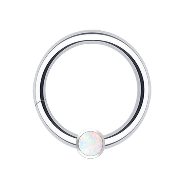 opal cartilage piercings opal helix hoop opal daith ring opal rook jewellery