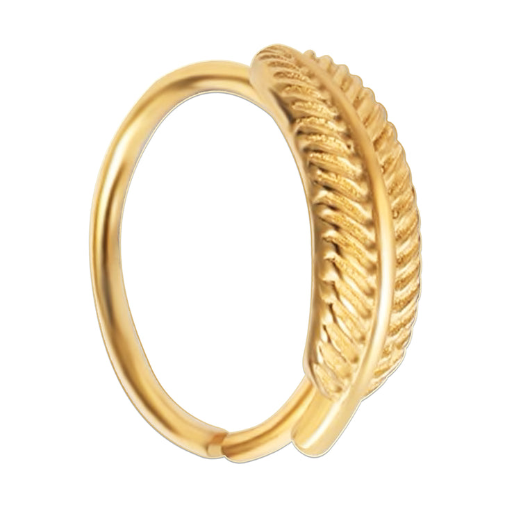 gold cartilage piercing gold snug ring