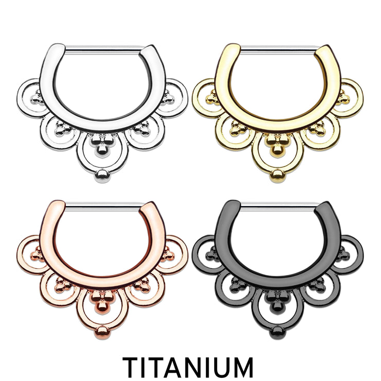 titanium cartilage rings titanium helix piercing gold daith hoop black cartilage piercings ornate earrings titanium ear piercings
